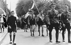 Haarlem. Marcia dello Jeugdstorm in Julianapark, 27/28 giugno 1942