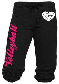 TOPSELLER! Volleyball Capri with Heart Shaped Vo... $24.99