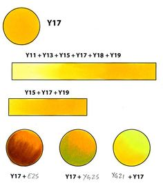 Y17, Golden Yellow