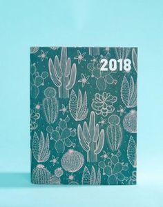 Paperchase   Paperchase Cactus Garden 2018 Diary