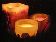 Aprenda a fazer velas decorativas e dê um toque de romantismo à casa → #velas #redeglobo #gshow