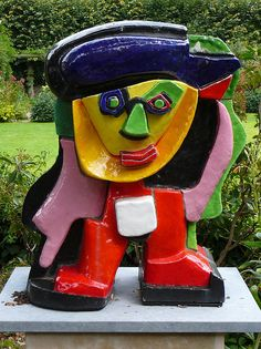Karel Appel was a Dutch painter, sculptor, and poet. He started painting at the age of fourteen and studied at the Rijksakademie in Amsterdam in the 1940s. He was one of the founders of the avant-garde movement Cobra in 1948.