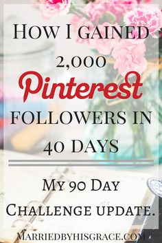Incase you missed the first post about me starting a 90 Day Pinterest Challenge for myself, you can it read here.   The purpose of the Pinterest Challenge was for me to learn more about how to use Pinterest as a Blogger so I can pass it on to other bloggers that is striving to grow their platform.   As a Blogger that has a passion to encourage new Christian Bloggers, I have created goals to reach more bloggers by sharing all that I have learned and what I am learning throughout my blogging…