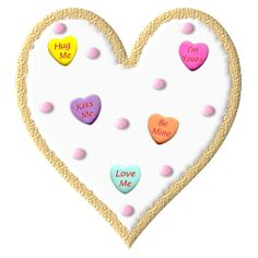 VALENTINE'S DAY HEART CLIP ART