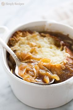 French Onion Soup from @simplyrecipes