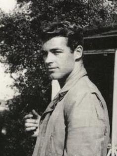 Guy Madison, Actor, 1940's, black and white photo.
