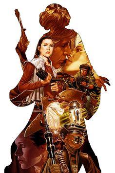 Star Wars • Princess Leia #1 by Mark Brooks
