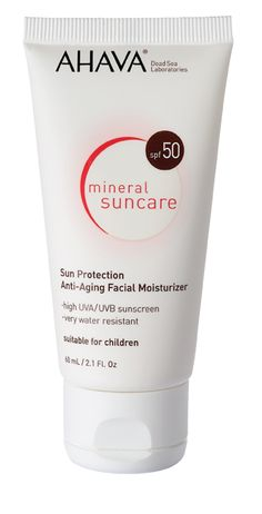 SUN PROTECTION  A face lotion with SPF 50 that is formulated to protect and nourish delicate skin, while soothing and providing maximum sun protection. Enriched with Dead Sea minerals, essential vitamins, and moisturizing ingredients.    UVA