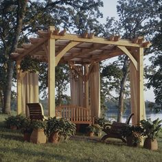 Pergola Plans | Pergola Ideas | Patio Covers Place THIS IS THE ONE!  MY FAVORITE and can buy plans, very detailed looks like for beginner.