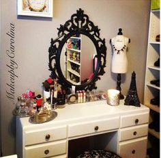 Super Chic vanity #vanity #decor #bedroom #fashion #DIY#beauty