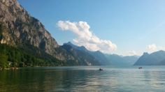 Traunsee looking towards Ebensee