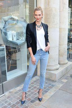 Atelier Swarovski event, Los Angeles – October 25 2016 Karlie Kloss accessorised her look with Atelier Swarovski jewellery