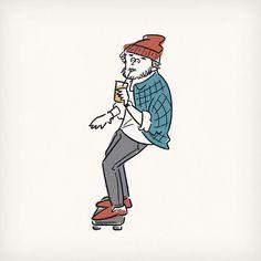 マンゴージュースが飲みたくて #artist #popart #instaart #skatingboard #skateboard #mangojuice…