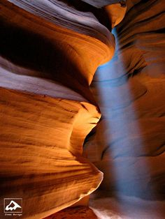 Light in Antelope Canyon - Arizona