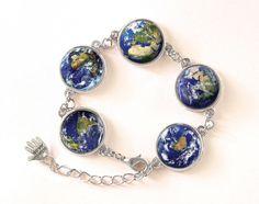Bracelet Planet Earth, 0104BOS from EgginEgg by DaWanda.com