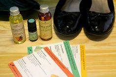 Concocter une huile de massage ressourçante pour les pieds