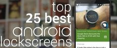 Top 25 Best Lock Screen App For Android 2016 (New) - http://www.qdtricks.org/best-android-lock-screen/