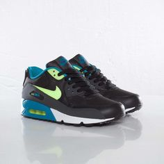 Nike Air Max 90 GS - Neo-Turquoise / Volt