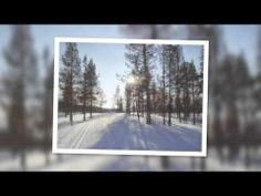 Amazing Cross Country Ski tracks in Lapland - YouTube
