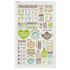 Look what I found at UncommonGoods: The Tea Towel for $14 #uncommongoods