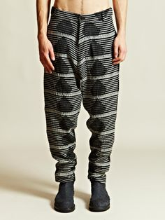 Damir Doma Men's Drop Crotch Pintano Trousers | LN-CC. Wear the fuck would I wear this