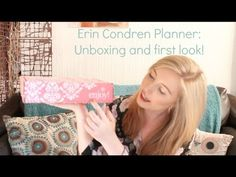 Erin Condren Planner: Unboxing & A First Look • Pippa Marie - YouTube