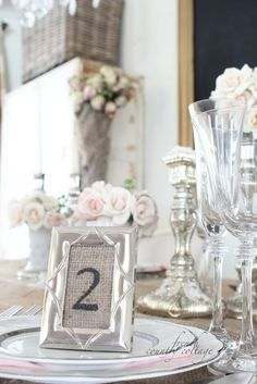 HomeGoods   Dress Up Your Table with a Rustic Glam Place Setting