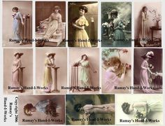 free download vintage images ladies - Google Search