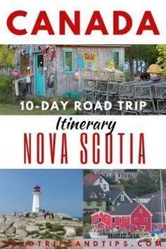 10 Day Nova Scotia Road Trip Itinerary (with Maps) - This 10 day Nova Scotia road trip is your guide to the best of the beautiful east coast of Canada i - Toronto Canada, Canada Eh, Montreal Canada, Tonga, Nova Scotia, Quebec, East Coast Canada, Vancouver, Best Island Vacation