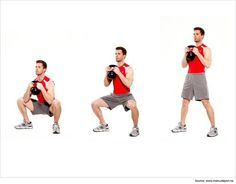 Kettlebell Ab Exercises Front Squat