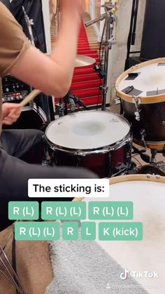 A tutorial by studio drummer Nick Adams breaking down one of his favorite drum fills followed by how to use it in a groove Music Lessons For Kids, Music Lesson Plans, Drum Lessons, Drum Sheet Music, Drums Sheet, Learn Drums, How To Play Drums, Samba Drums, Nick Adams