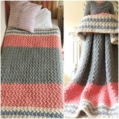 The Huge, Crochet Squishy Blanket, the super winter duvets will be the best project for cold time. If you mix it by rainbow or optimistic colors it will warm you much much more :)    This tutorial