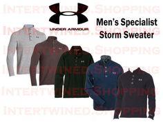 Men's Under Armour Specialist Storm Sweater - 1238296 All Colors #UnderArmour #12Zip