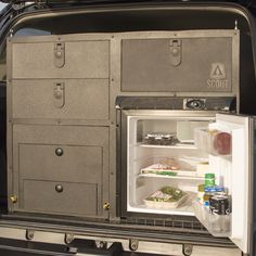 Scout Overland Camping Vehicle Kitchen - Scout Equipment Co