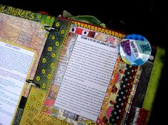 JOURNALFEST 2009  altered books and journals #journal [sorry I can't get the image bigger, however if you're using Firefox you can enlarge images by using ctrl with your mouse wheel]