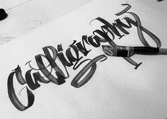 Calligrafia / cola pen