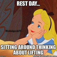 Suck It Up Fitness — Rest Day…the hardest day of the week. ...