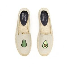 Just bought a pair of Soludos avocado slip-ons. So excited for these!