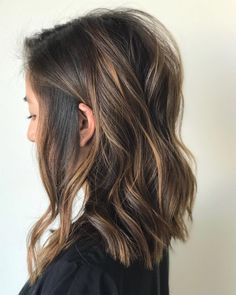 41 Different Hairstyles To Try in 2019 Tousled & Effortless hairstyle Partial Balayage Brunettes, Balayage Brunette Short, Balayage Hair, Going Blonde To Brunette, Brown Blonde, Straight Hairstyles, Cool Hairstyles, Popular Hairstyles, Latest Hairstyles
