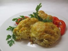 Csőben sült karfiol - vegetáriánusoknak is - vasárnap Vegetarian Recipes, Healthy Recipes, Quiche, Cauliflower, Food And Drink, Low Carb, Pasta, Vegetables, Cooking