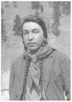 Art Raining Bird - Chippewa Cree - 1930