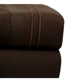 Loving this Chocolate Bellissimo Hotel Stripe Sheet Set on #zulily! #zulilyfinds