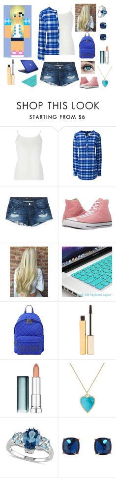 """Female Garroth (MyStreet)"" by weredragon360 ❤ liked on Polyvore featuring Dorothy Perkins, Lands' End, 3x1, Converse, Moschino, Stila, Maybelline, Jennifer Meyer Jewelry, Allurez and Humble Chic"