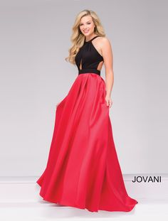 While we can't help you find your dream date, WhatchamaCallit Boutique has your dream dress. Check out Jovani Style 45142 today
