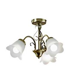 Buy symphony black 3 light ceiling light fitting at argos elise 3 light ceiling fitting antique brass aloadofball Image collections