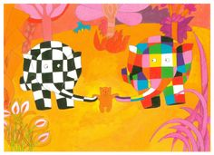 'Elmer and the Lost Teddy' by David McKee