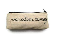 Fermeture à glissière vacances argent par MontclairMade sur Etsy