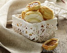 Cookies in the form of nuts by Olga Kriger, via Dreamstime Cookie Images, Basket, Treats, Cookies, Breakfast, Recipes, Food, Inspirational, Sweet Like Candy