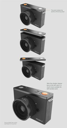 Digital Holga camera concept by Saikat Biswas | saikatbiswas.com