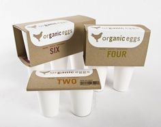 Finally, different egg packaging.